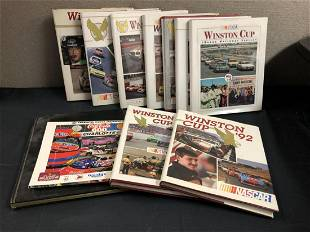 Lot Of Winston Cup Grand National Series Books