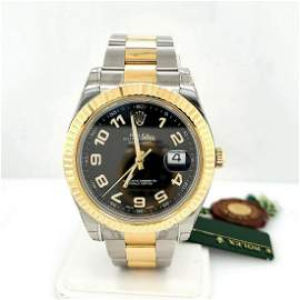 Men's two tone Rolex Datejust II