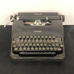 Vintage LC Smith Corona Standard Typewriter
