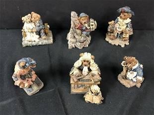 Lot Of Boyd Bears Figurines