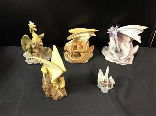 Lot Of Enchantica Dragon Figurines