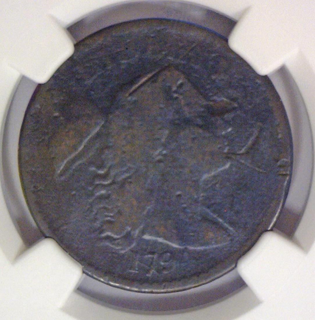 1794 Draped Bust Large Cent NGC AG Damaged