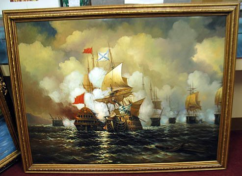 2009: Oil Ship Painting