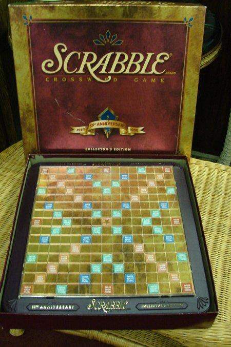 2211: Scrabble 50th Anniversary Collectors Ed