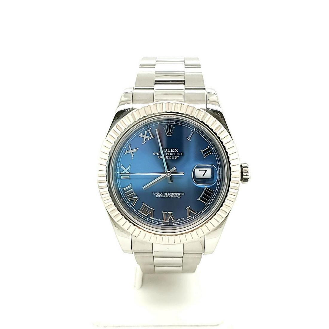 Men's Stainless Rolex Datejust II