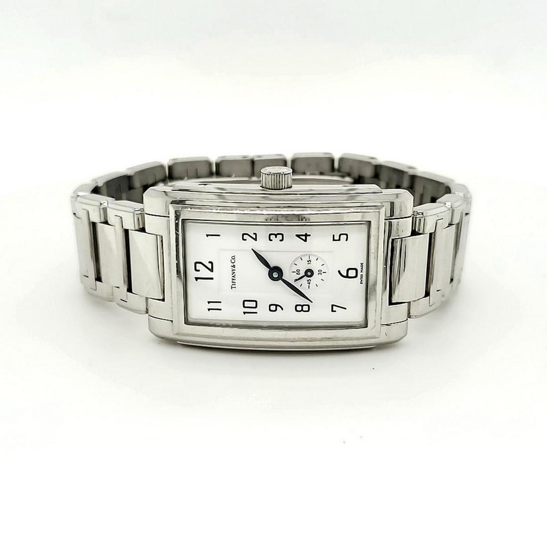 Ladies Stainless Steel Tiffany & Co. quartz watch