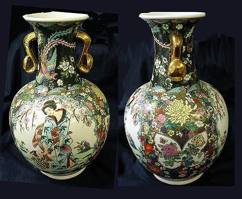 9: Porcelain vase