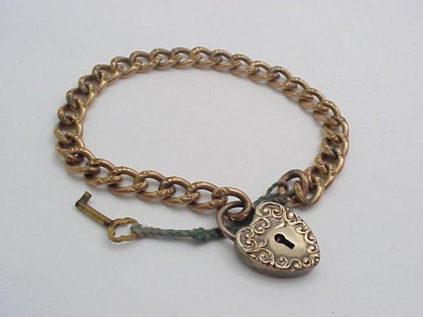 16: Victorian Locket Bracelet