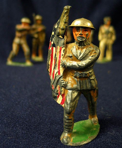 17: Barclay Dime store Toy Soldiers