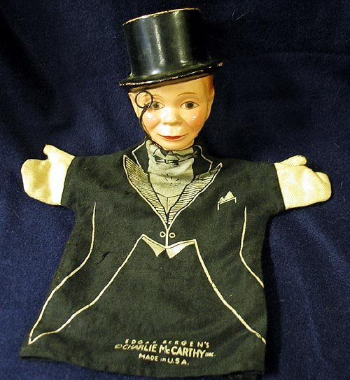 19: Puppet Edgar Bergen's Charlie McCarthy