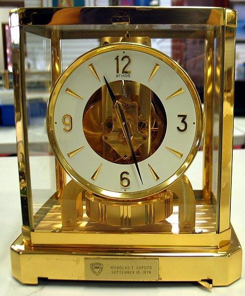 50: Jaeger-LeCoultre Atmos Clock