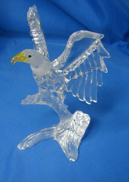 178: Swarovski Crystal Bald Eagle