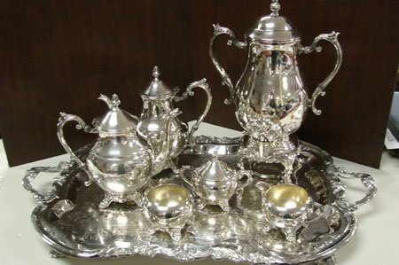 2103: Rogers Silverplate Coffee & Tea Service