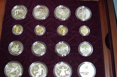 1018: U.S. Olympic Coins of Atlanta Games - 32 Coin Pro