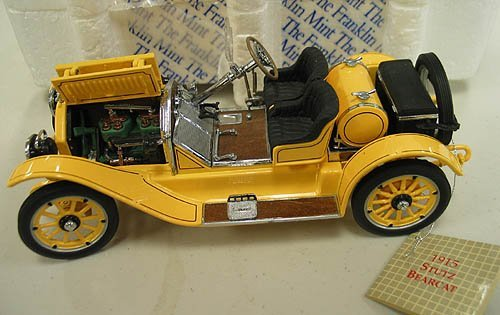4010: Danbury Mint and Franklin Mint Cars