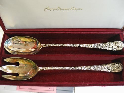 6024: Godinger Silversmiths Salad set