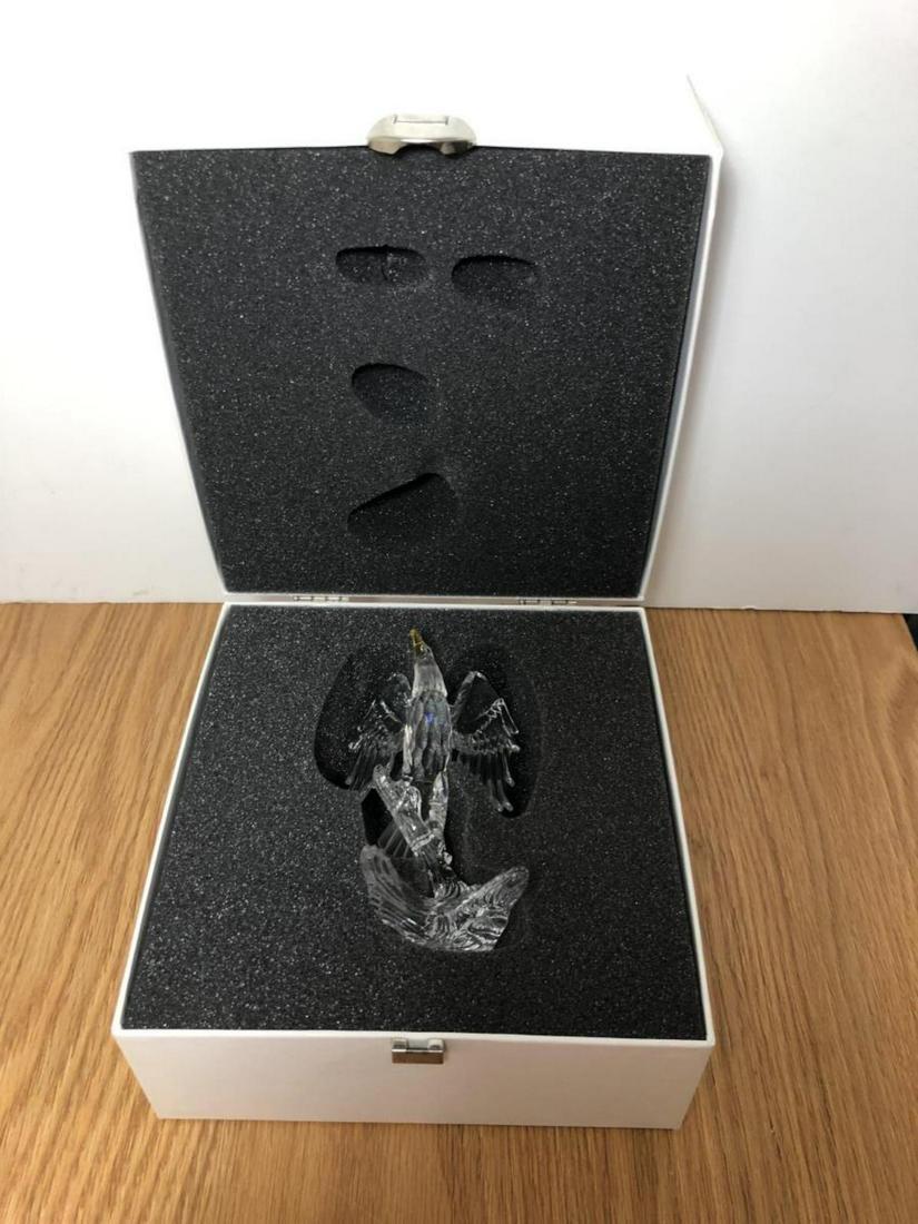 Swarovski Crystal American Bald Eagle w/Box