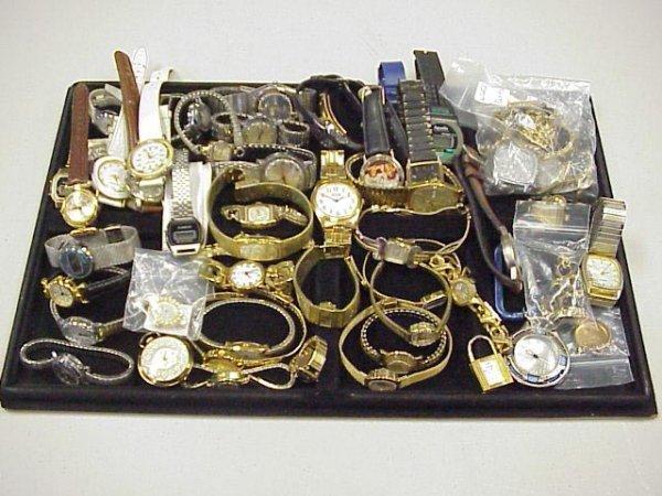5: Box lot of 50 Men's & Women's Watches