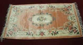 34 Oriental Silk cotton Handmade Rug China