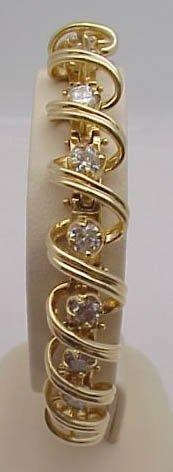 7: 14kyg 4ctw diamond bracelet