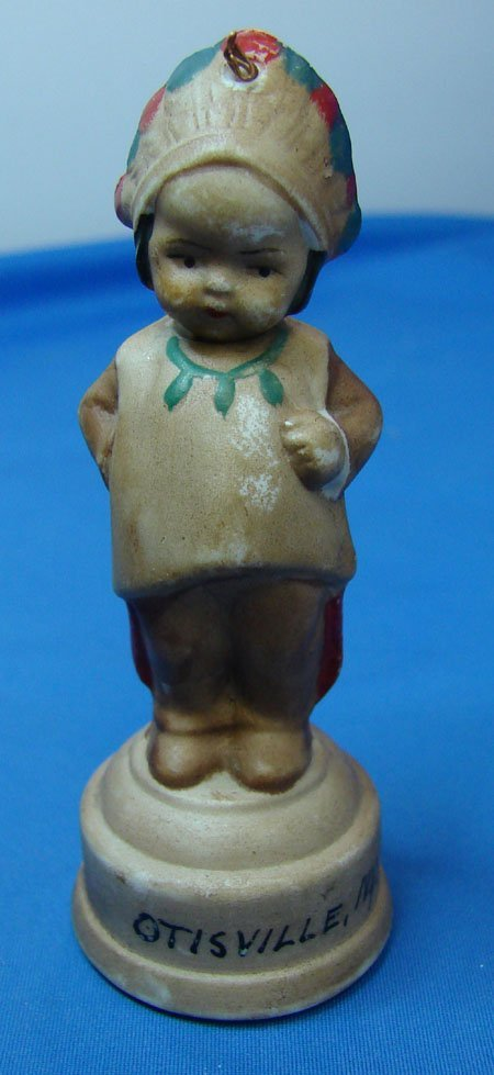 18: Antique Porcelain Doll Measuring Tape
