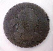 1801 Draped Bust Large Cent ICG FR2 details