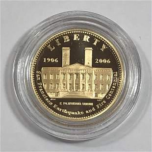 2006 $5 San Francisco Old Mint Proof Commem.