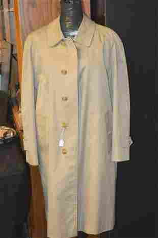 Tan Burberry Trench Coat