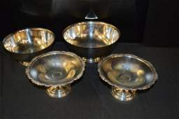 Lot Of Silver Plate Pieces