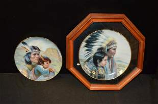 Pair Of The Crow Nation By Perillo Plates