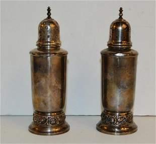 Heirloom Sterling Silver Salt & Pepper Shakers