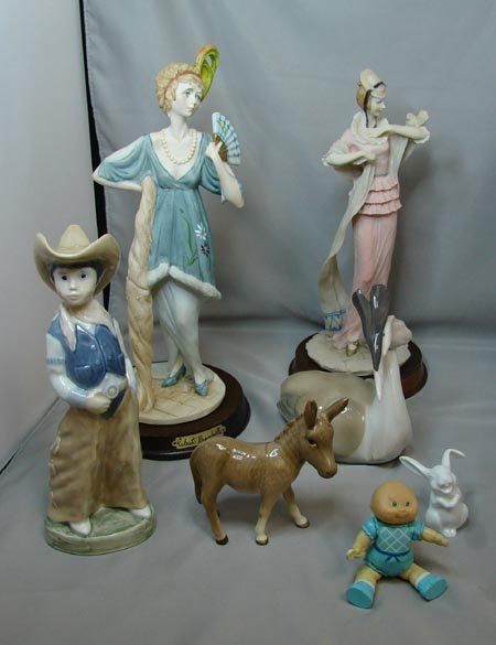 20: Lot of Figurines incl. Beswick Donkey