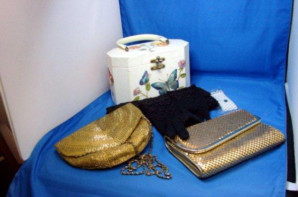 8: Vintage Bakelite & Beaded Bags - Lot of 4