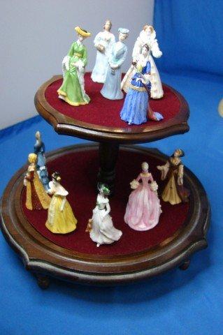 11: Franklin Mint Porcelain Ladies of Fashion