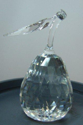 22: Swarovski Crystal Pear w/box