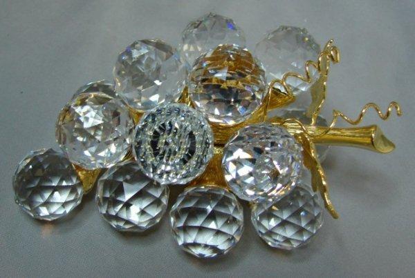 23: Swarovski Crystal Bunch of Grapes (small)