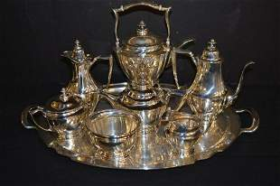 Tiffany Sterling Coffee/Tea Service