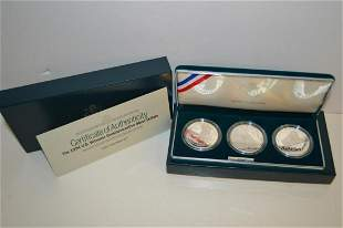 1994 U.S Veterans Commemorative Silver Proof Set