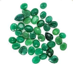 Loose 311.5ct parcel of opaque emerald