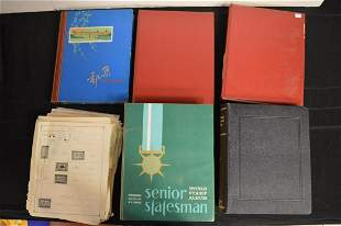 Large Collection of World Stamps in Binders
