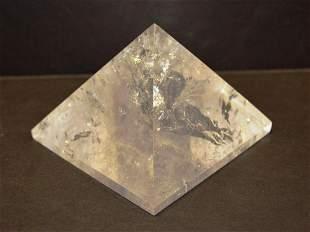 1,628.50ct clear quartz pyramid