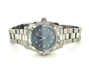 Ladies Stainless Tag Heuer Aquaracer Watch