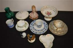 Lot Of Assorted China & Porcelain Figurines