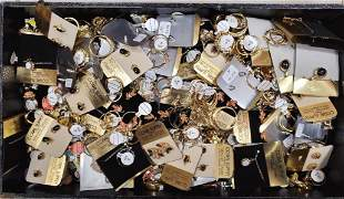 Large lot of costume jewlery