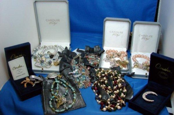 4: 12 Pieces Carolee  Jewelry, vintage beads, etc.