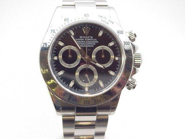 237: Man's stainless Rolex Daytona Cosmograph