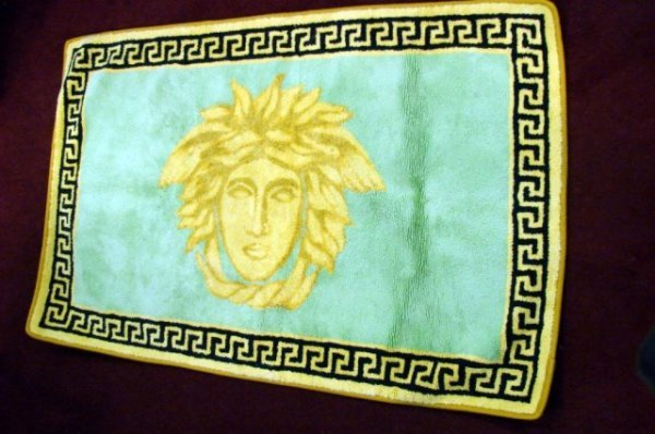 290 3 Gianni Versace Medusa Rugs Made In Italy