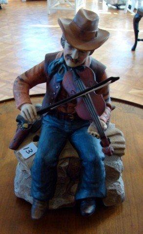 13: Music box Fiddling Cowboy