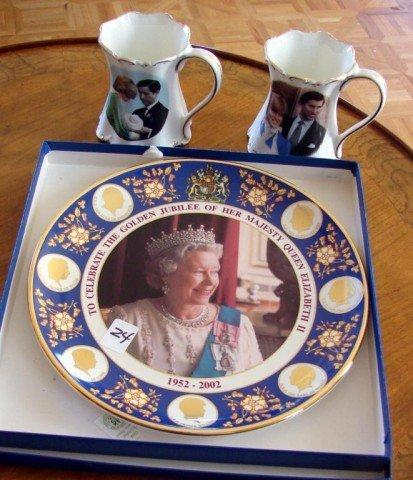 24: Lot of Queen Elizabeth, Princess Diana, etc.