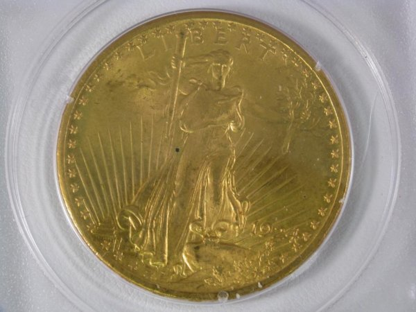 983: 1924 St.Gaudens $20 PCGS MS65
